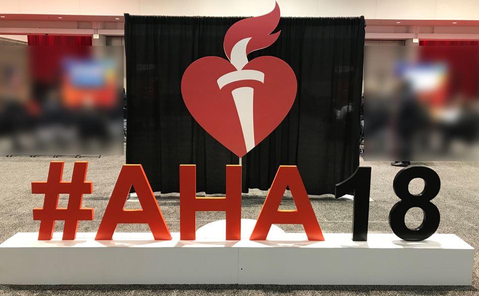 AHA2018のオブジェ