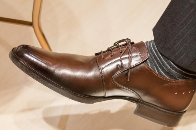 国際学会に持っていった靴