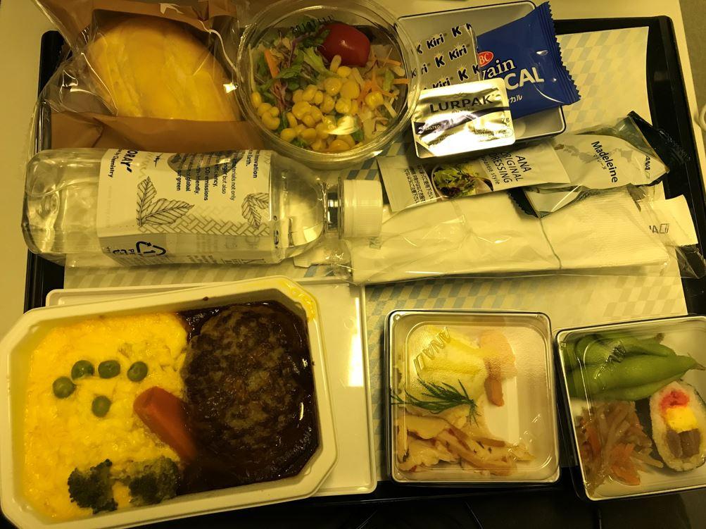 AHA2018の機内食