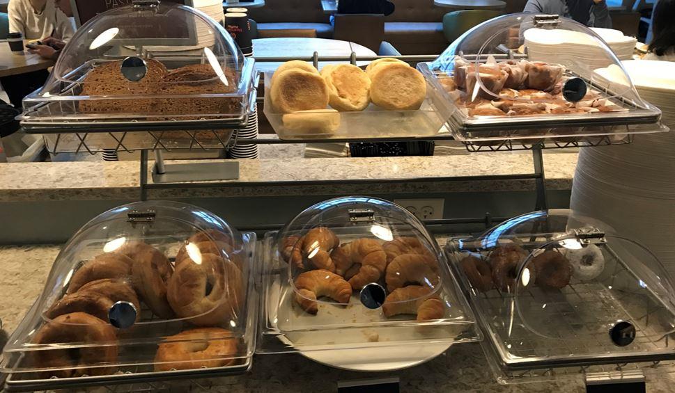 AHA2018のホテルで食べたパン