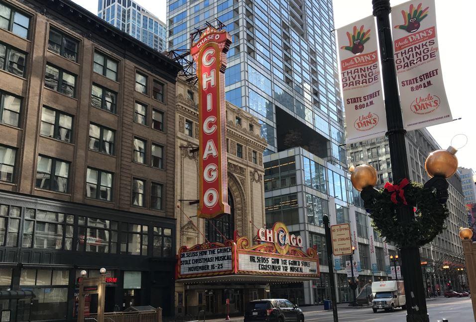 シカゴの町並み