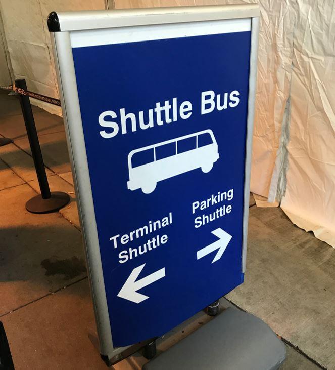 シカゴのシャトルバス